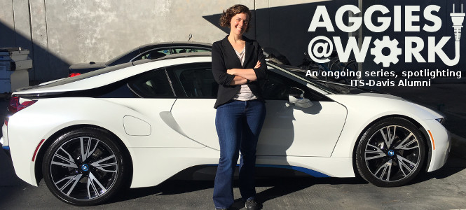 Alumna Julia Sohnen's Career Charges Forward with BMW