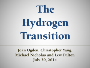 The Hydrogen Transition